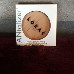 NWT lorac Tantalizer bronzing powder full size